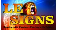 Leo Signs (PTY) LTD Logo